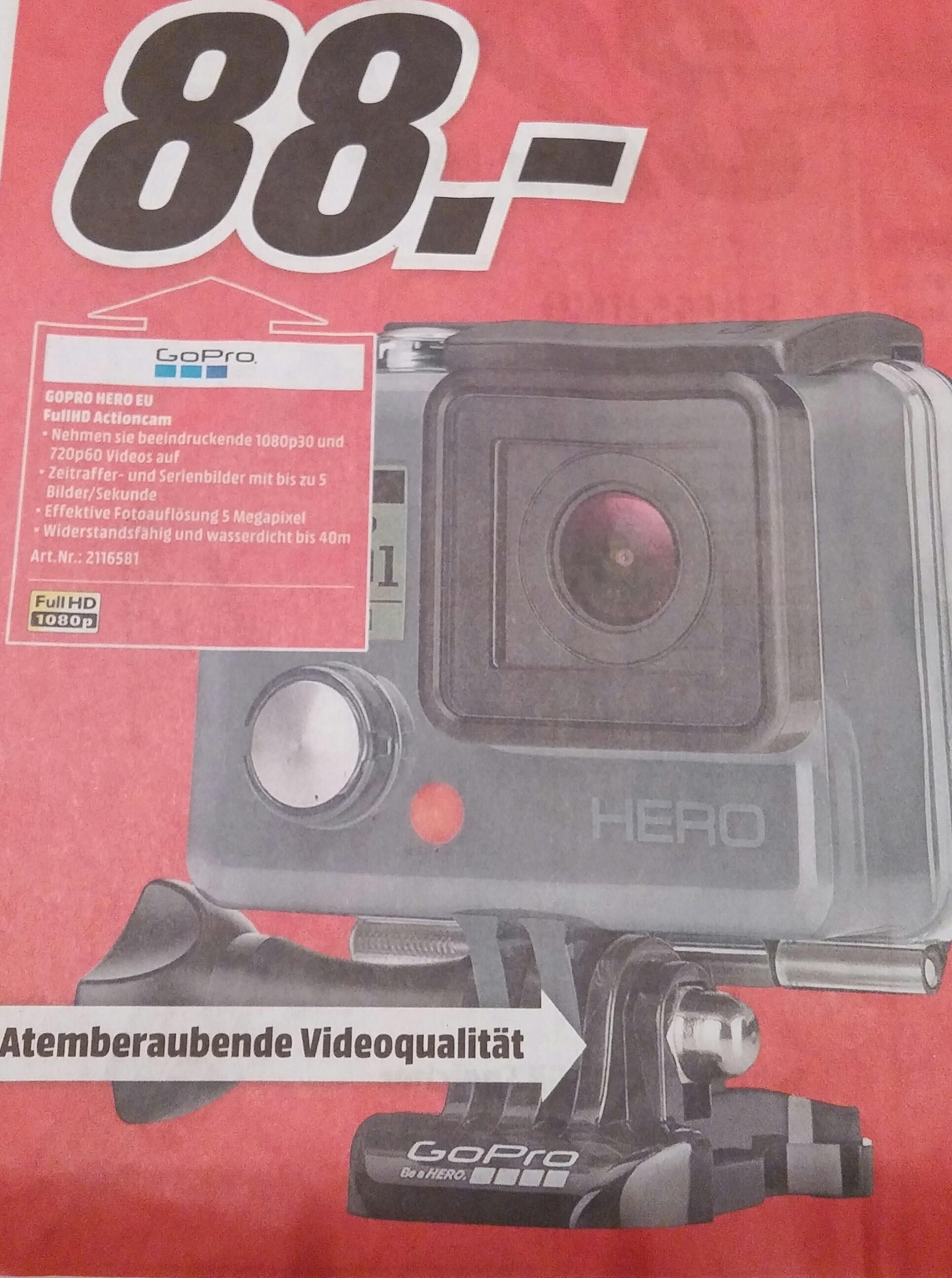 [Lokal MediaMarkt Ingolstadt] GoPro