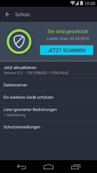 """66% Reduziert """" AVG Antivirus PRO für Android """" 2,69 €"""