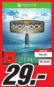 [Lokal Mediamärkte Koblenz/Neuwied] BioShock: The Collection (Xbox One) für 29,-