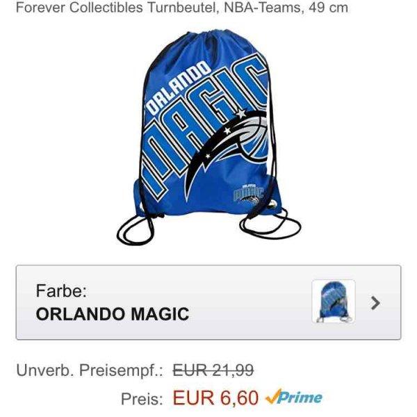 Amazon Prime Orlando Magic Turnbeutel für 6,60 Euro