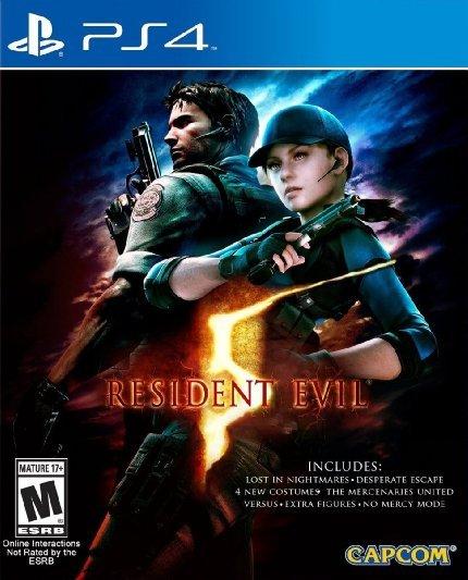 (Amazon.com) Resident Evil 5 HD inkl. allen DLCs (PS4) für 18€