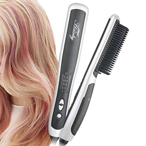 Amazon: Haarbürste mit Ionen-Funktion und Verbrühschutz