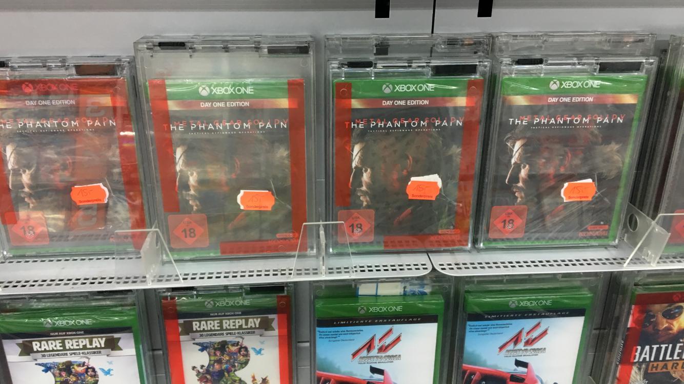 [Lokal Saturn Magdeburg] [Xbox One] Metal Gear Solid V The Phantom Pain für 15€