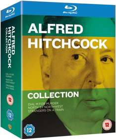 (Zavvi) Hitchcock Box Set [Blu-ray] für 12,09€