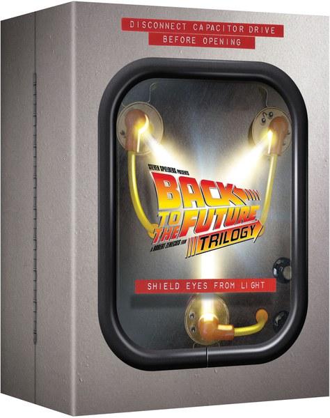 (Zavvi) Zurück in die Zukunft - Flux Capacitor Boxset Blu-ray für € 32,69