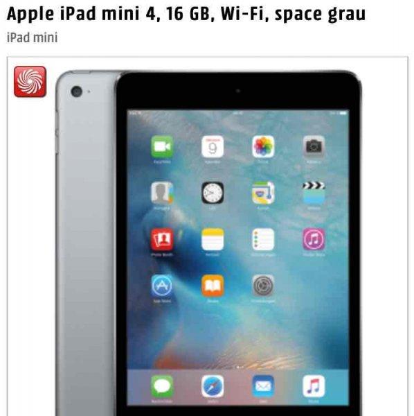 [Schweiz] iPad Mini 4 WiFi 16 GB für 349 CHF / 320€