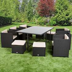 Amazon - Ultranatura Poly-Rattan Lounge-Set