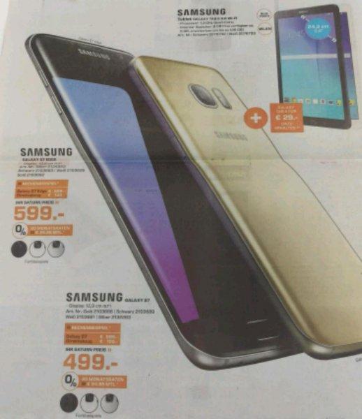 Samsung Galaxy S7 bei Saturn in Dortmund Zentrum 499€