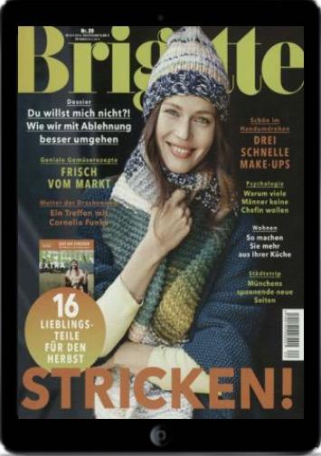 Einen Monat kostenlos das digitale BRIGITTE Magazin lesen - Endet automatisch