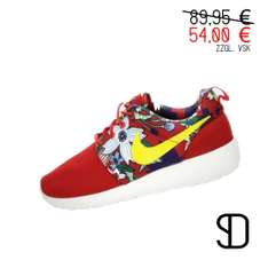 """Nike WMNS Roshe One Print """"Aloha Pack - rot"""" 54,00 € anstatt 89,95€ zzgl. VSK"""