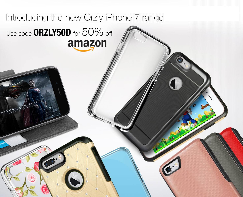 Facebook-Aktion von Orzly -> 50% auf alle iPhone 7(+) Hüllen