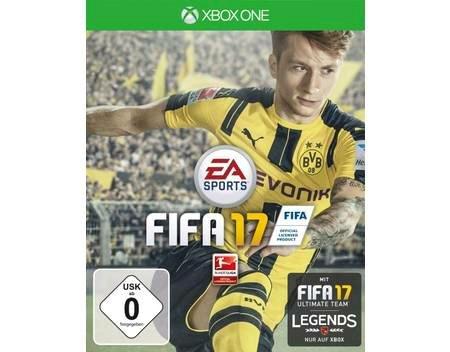 FIFA 17 mit Gutscheincode bei Allyouneed