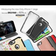 ORZLY 50% auf iPhone 7 / 7 Plus Cases
