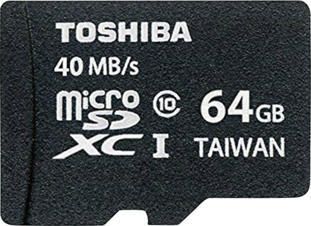 Toshiba Professional microSDXC 64GB Class 10 / U1 für 9,99€ [Gravis Filiale: Bochum, Bremen, Duisburg, Essen, Leipzig, München]