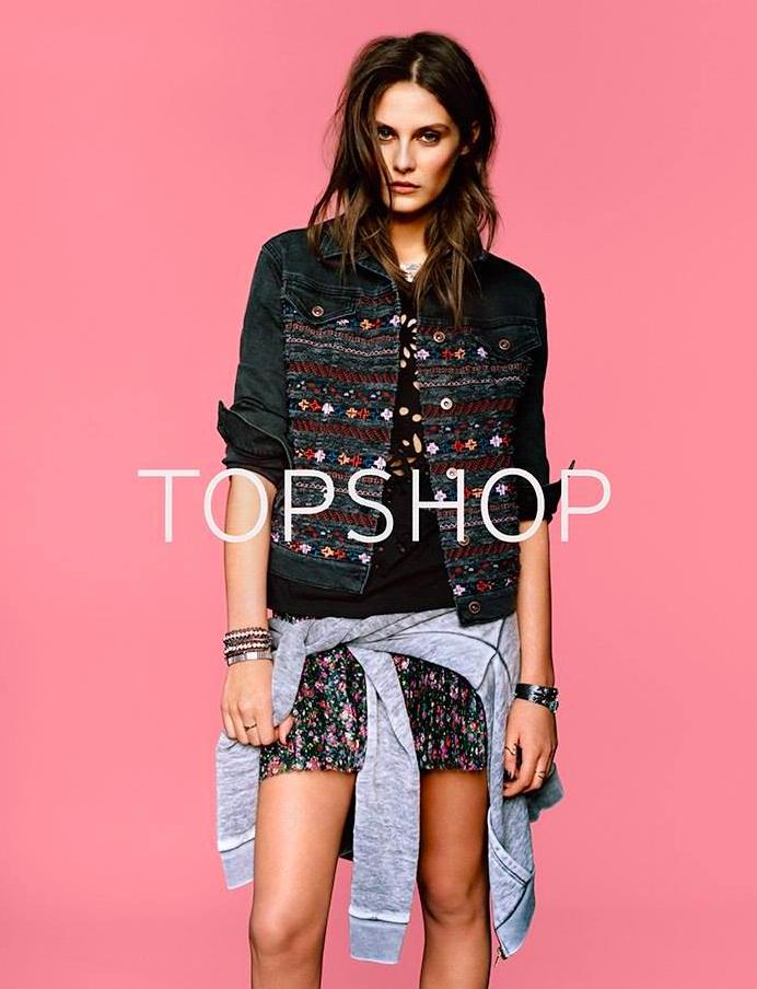 Letzter Tag gratis Versand bei Topshop + bis zu 70% Rabatt, Tops ab 1€ *UPDATE*