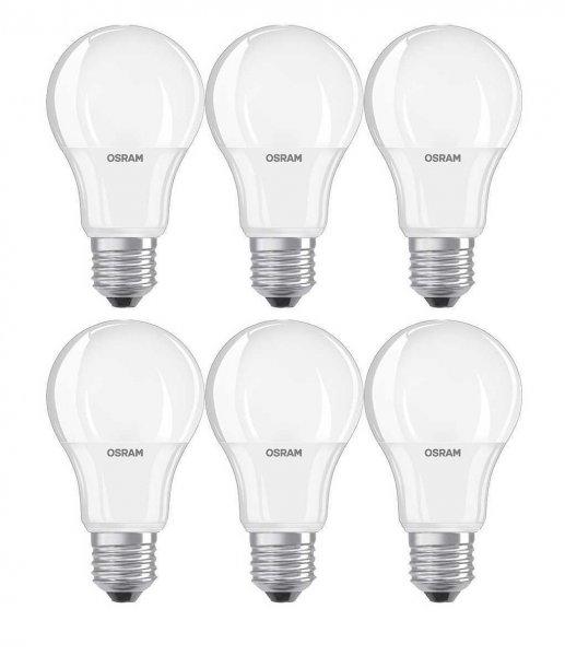 6er-Pack Osram LED Lampe E27, 9W (ersetzt 60W) für 15,90€ @eBay