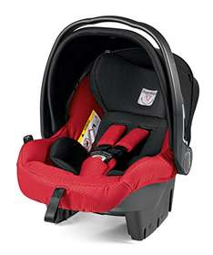 Peg Perego APVSX1MRED Testsieger Gruppe zero plus Babyschale Primo Viaggio, mod red