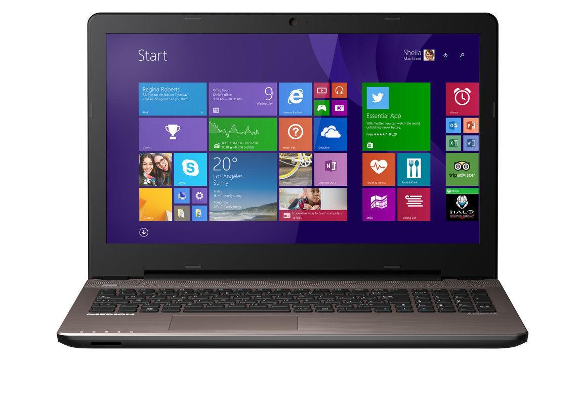 """Medion Akoya E6416 MD 99540 für 249,99€bei eBay - B-Ware 15,6"""" Notebook mit Core i3, 500GB HDD und Win8"""