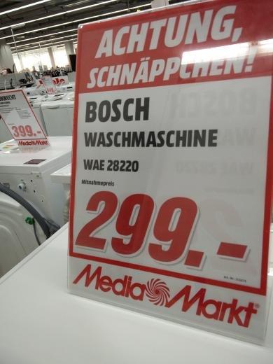 [lokal] Waschmaschine Bosch WAE 28220 - MM Berlin-Schöneweide