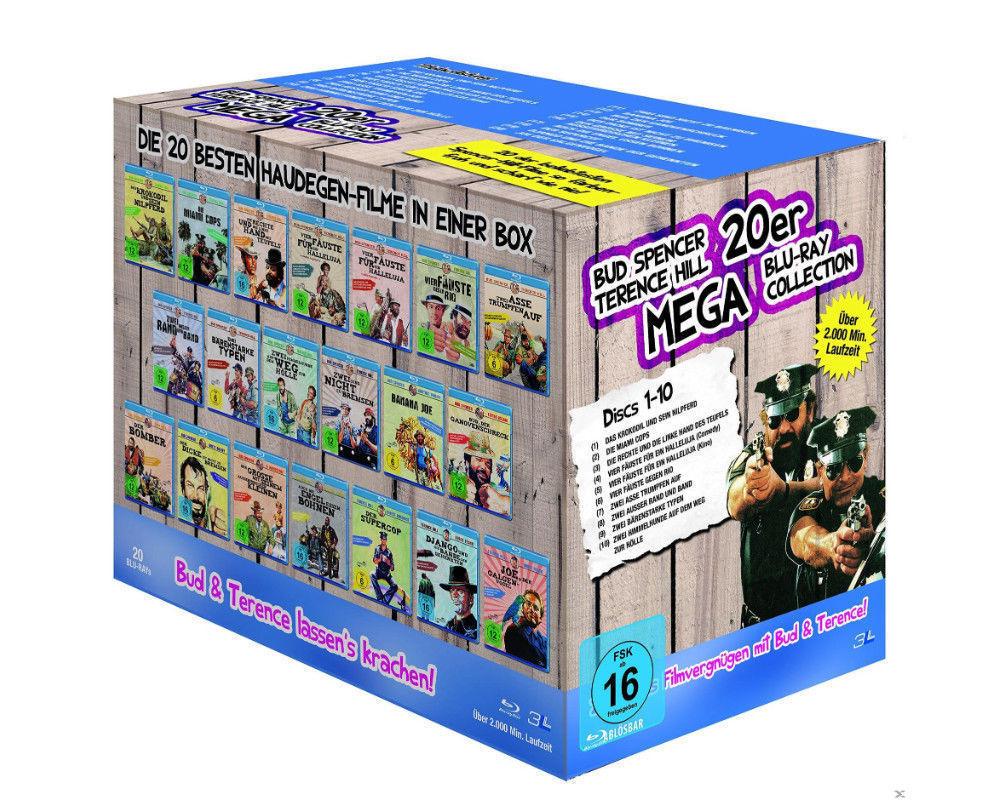 Bud Spencer Terence Hill Mega Blu-Ray Box