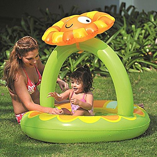 Amazon plus Produkt : Jilong Planschbecken Sunflower Canopy Pool - Nur 4,17 €