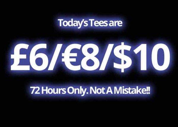 8€ für t-shirts bei qwertee 72h lang zzgl. Versandkosten