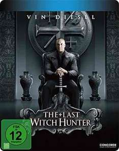 Amazon Prime The Last Witch Hunter auf Blu Ray Limited Steelbook für 9,97