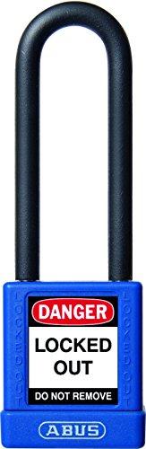 ABUS Vorhängeschloss - 75mm - isoliert - Kunststoffummantelt