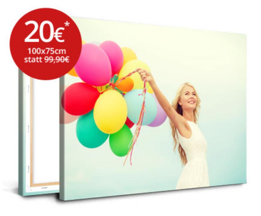 meinXXL-Fotoleinwand 100x75cm für nur 20€! + Versand