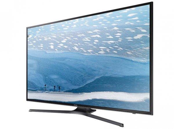 Samsung UE55KU6079UXZG 139,7 cm (55 Zoll) Fernseher (Ultra HD, Triple Tuner, Smart TV) schwarz [Energieklasse A]
