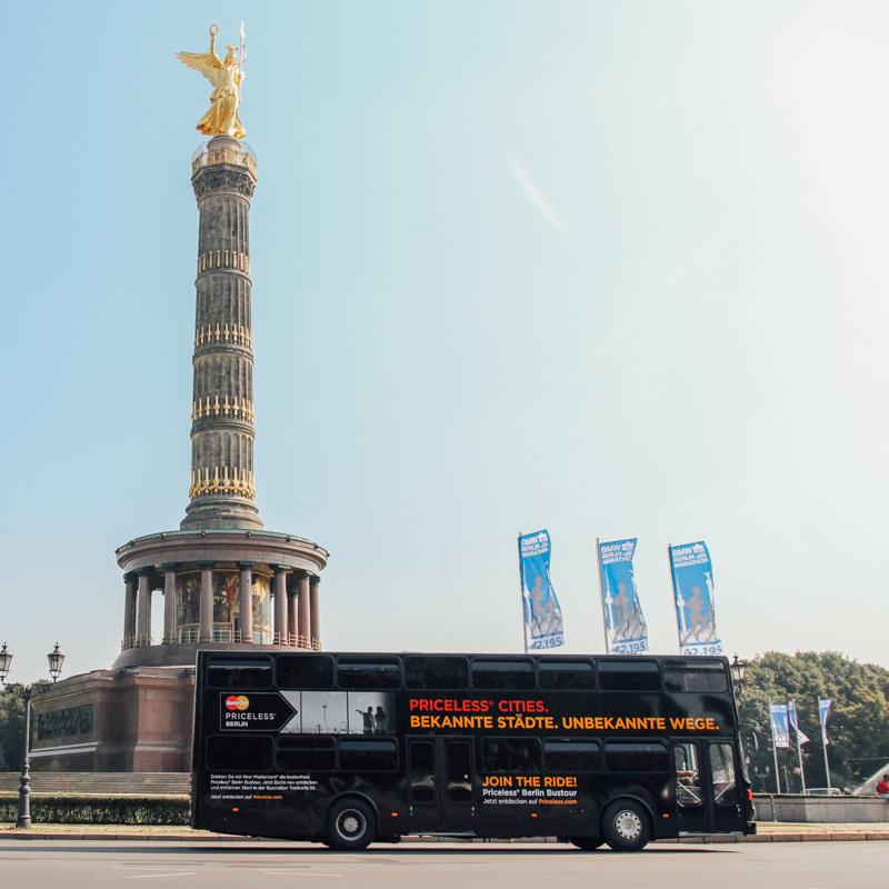 Kostenlose Berlin Sighseeing Tour im Doppeldecker Bus für Mastercard Besitzer