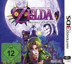 The Legend of Zelda: Majoras Mask 3D (3DS) für 29,90€ [Notebook.de]