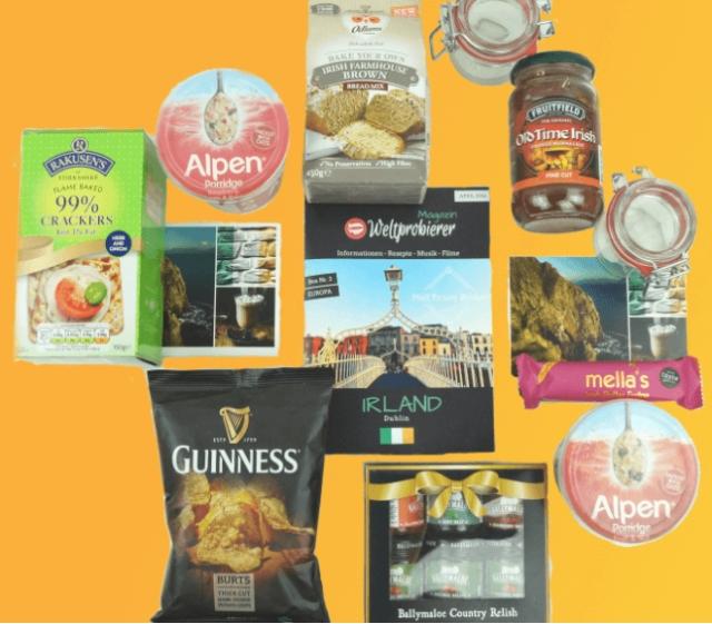 Irland Essens Box - Weltprobierer [- 27,54%]