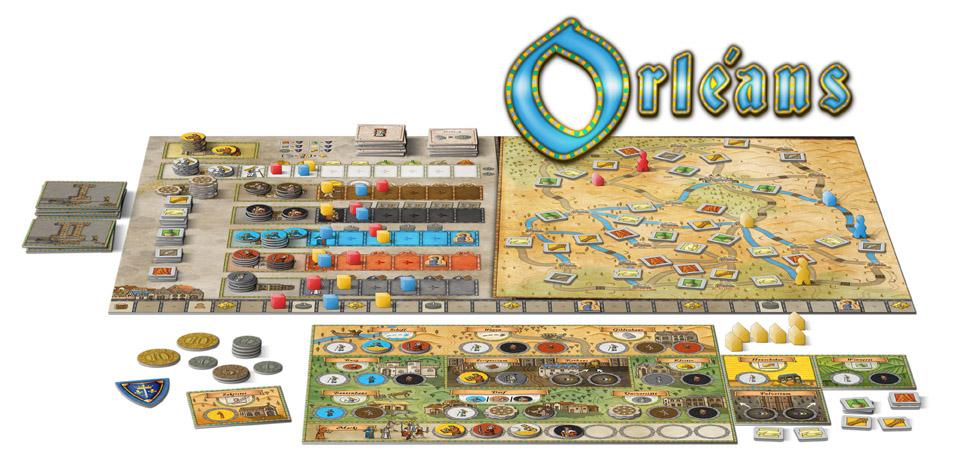 Orléans, Brettspiel, nominiert als Kennerspiel 2015 für 33,99€ @hugendubel.de