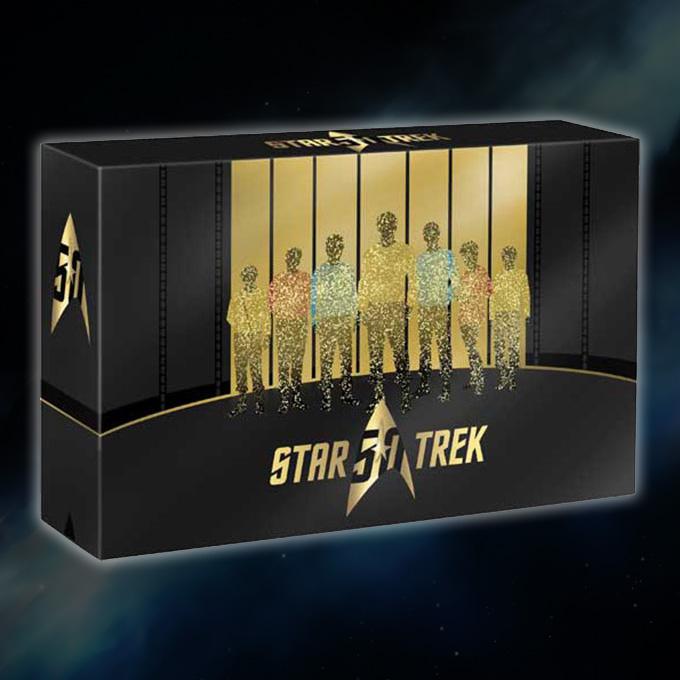 Star Trek 50th Anniversary Box [Blu-ray] inkl. Vsk für 118,75 € > [amazon.fr]