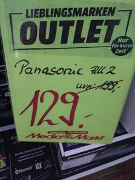 Lokal MM Essen Panasonic All2 WLAN Lautsprecher analog Sonos