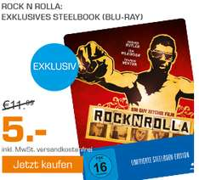 ROCKNROLLA Steelbook Bluray bei Saturn Online 5€ - Versandkostenfrei nach Hause geliefert.