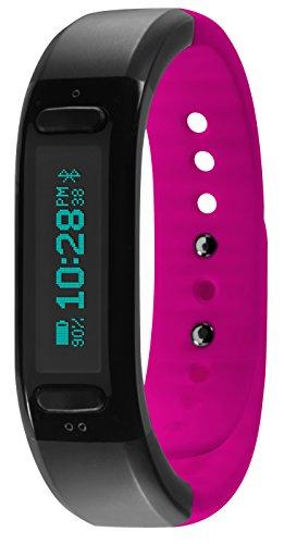 Soleus GO! Wireless Bluetooth Fitnessband Aktivitätstracker Schlaftracker Kompatibel mit iOS & Android Smartphones und Tablets - Pink 80% Ersparnis amazon UK