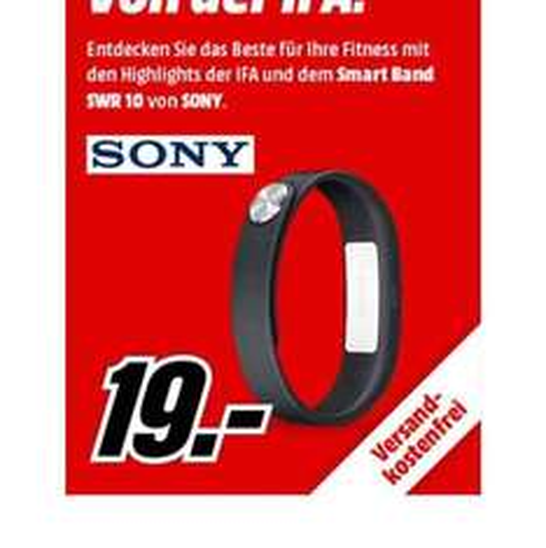 SONY Smart Band SWR10 für 19€