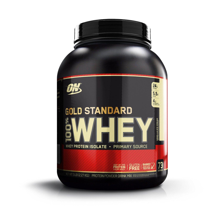 Optimum Nutrition Whey Gold Standard Protein, Vanille (2,3 kg) für 34,74€ @Amazon.de