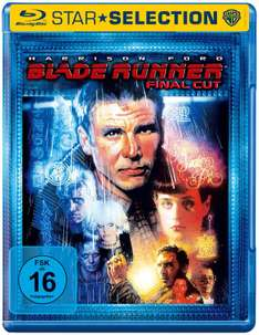 """Blade Runner"" mit Harrison Ford (Final Cut) & ""Rockn Rolla"" (Steelbook) (Bluray) für je 5€ versandostenfrei [Saturn]"
