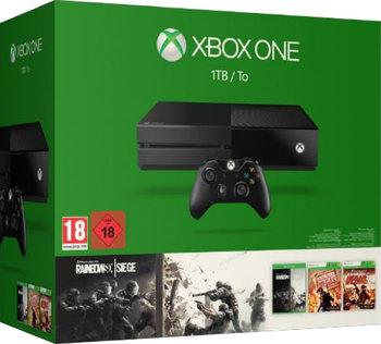 Xbox One 1TB Konsole - Bundle inkl. Rainbow Six Siege, Rainbow Six Vegas und Rainbow Six Vegas 2 inkl. Vsk 223,99 € oder mit NL Gutschein sogar für 218,99 € > [redcoon.de] & [amazon.de]