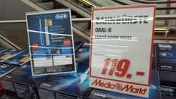 [Mediamarkt Alexa -  Berlin]  Oral B Genius 8000s - 69 EUR