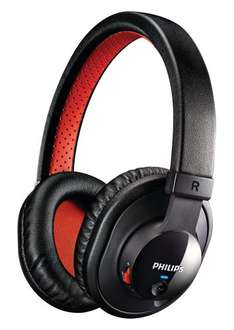 [Amazon] Philips SHB7000/10 Bluetooth Stereo Headset  schwarz/rot Idealo 50,50 €