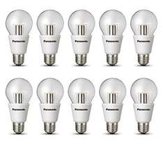 [Amazon] 10er Pack Panasonic LED E27 10W=60W