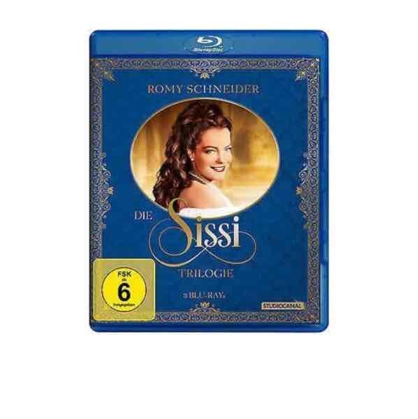 Sissi Trilogie Blue Ray für nur 13,99,- Media Markt