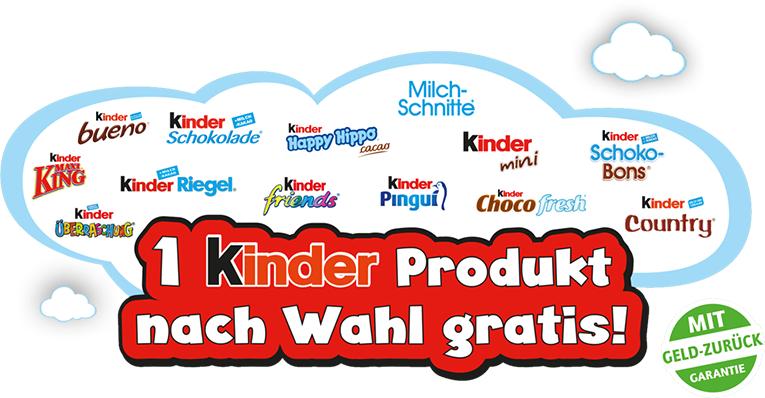 Ferrero Kindertag: Kinder Produkte gratis testen