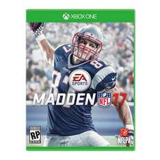 Madden NFL 17 Xbox One + 7 Ultimate Team Pro Packs + 20% Nachlass NFL Shop für 41,90€ @gamedealdaily (Xbox Live Key)