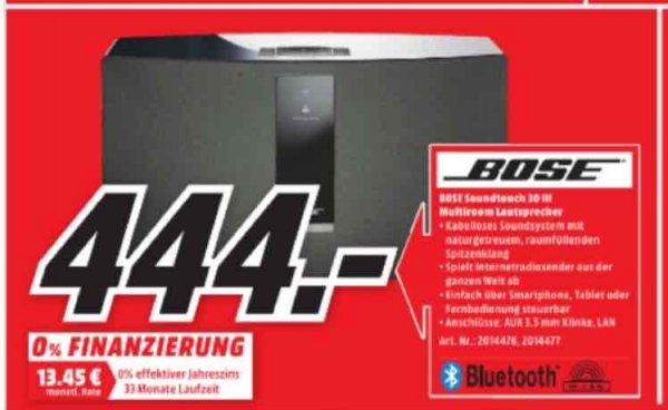 Bose Soundtouch 30 III Multiroom Lautsprecher für 444€ | Mediamarkt Bielefeld