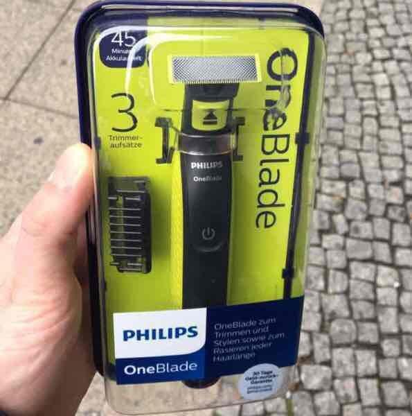 [Rossmann] Philips OneBlade Rasierer mit 3 Aufsätzen und 1 Klinge - eventuell Bundesweit